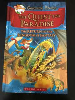 The return to the kingdom of fantasy
