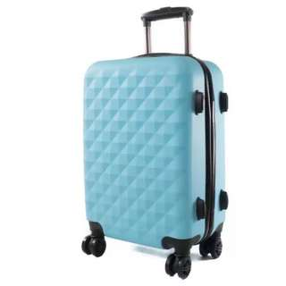 World Polo 20 inch Lightweight Scratch-Resistant Luggage