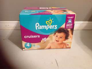 Pampers size new