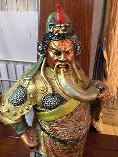 Resin Guang 关公 38cm