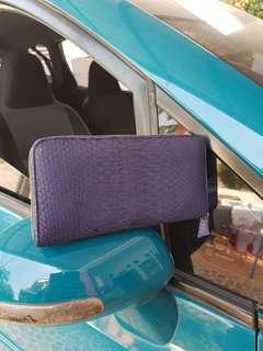 Dompet kulit ular size 20x10 harga 190rb dompet mini harga 90rb