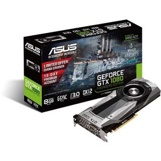Asus GTX 1080 Founder's Edition