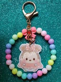 (16) Minnie Mouse Tsum Tsum Keychain/Bagcharm [SOLD]