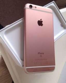Iphone6s 128gb玫瑰金