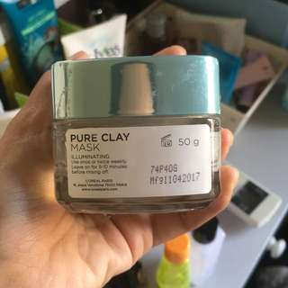 Loreal Clay mask