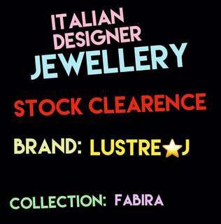 Italian Designer Jewellery STOCK CLEARENCE