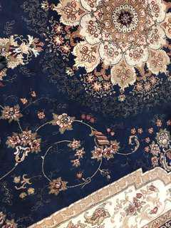 Royal Blue Belgium Carpet