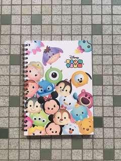 A5 Tsum Tsum Notebook Type 1 [Brand New]