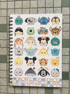A5 Tsum Tsum Notebook Type 2 [Brand New]