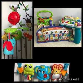 Bundle Pre-loved Toys & Walker