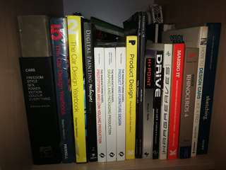 Various Industrial / Product Design Books