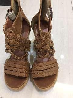 🚚 夏日 不敗高跟 楔形鞋(歐碼35)