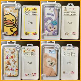 iPhone 7/8/X Case: Winnie the Pooh, B Duck, Duffy