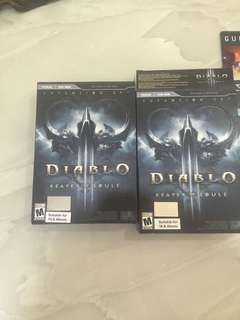 Diablo 3 limited edition expansion pack reaper of souls