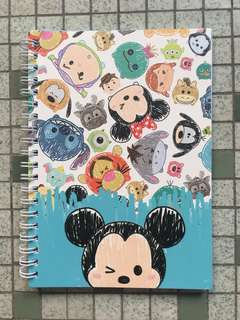 A5 Tsum Tsum Notebook Type 3 [Brand New]