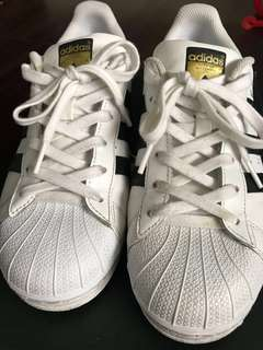 Authentic Adidas Superstar Gold Tab