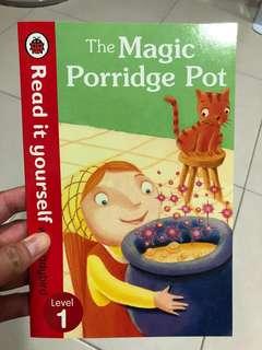 Read it yourself Level 1 book - The Magic Porridge Pot