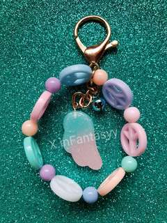 (15) Pastel Wing with Peace beads [SOLD]