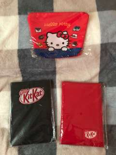 KitKat Products (Pouch and Books)