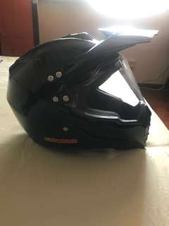 Full faced helmet