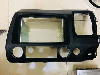 Honda Civic FD double din casing
