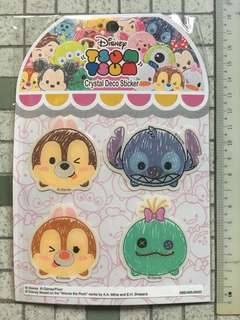 Tsum Tsum Crystal Deco Sticker Type 1