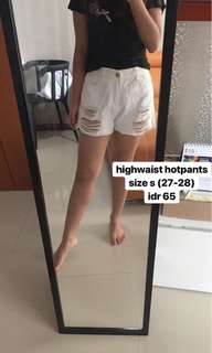 highwaist hotpants
