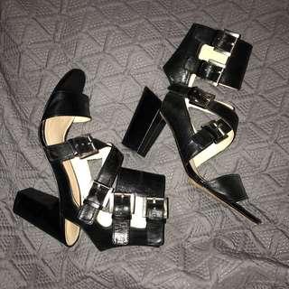 Nine West block heels size 7.5