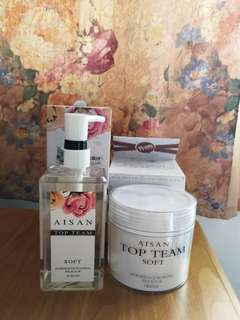 [AISAN TOP TEAM 微女神] Shampoo + Hair Mask set