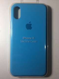 OFFICIAL APPLE SILICONE CASE (Sky Blue)