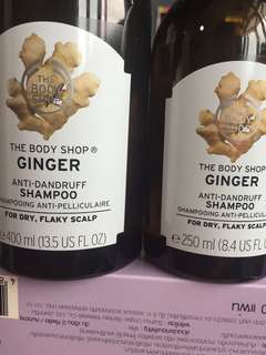 The Body Shop Ginger Shampoo
