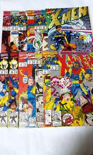X-MEN #1 TO 12 & GHOST RIDER 26 & 27 (14 Books) Jim Lee
