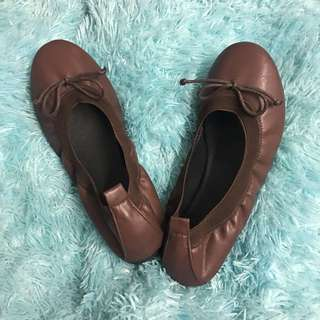 Yosi Samra Chocolate Brown with Bow
