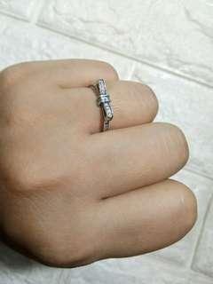 New: Pandora Sparkling Bow Ring