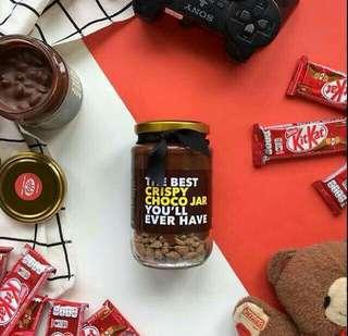 Crispy Choco Jar