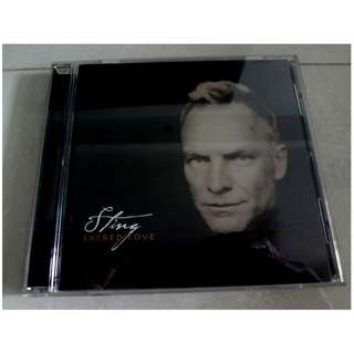Sting CD Sacred Love