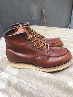 Sepatu Boot Redwing 875 Original Made USA