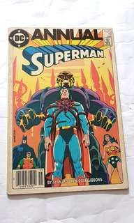 SUPERMAN ANNUAL 11 ALAN MORE DAVE GIBBONS