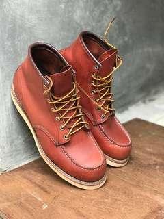 Sepatu Boots Redwing 8131 Made Usa