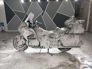 Bike wash polish ceramic coating