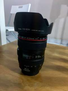 Canon 24-105mm IS USM lens (9/10 very good condition)