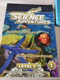Science adventures level 3 set