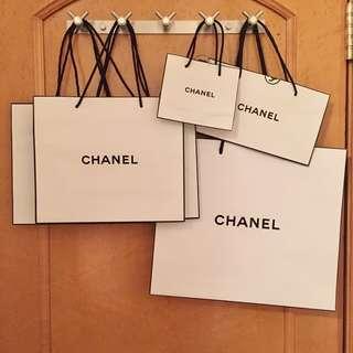 Chanel paper bag 名牌紙袋