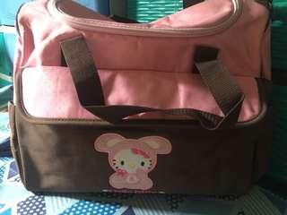 Baby bag with slight damage