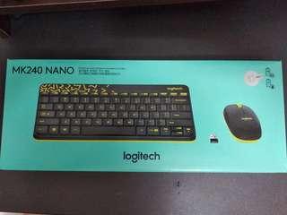 羅技 無線滑鼠鍵盤