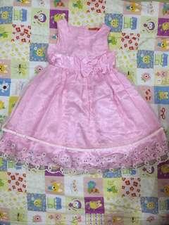 Gaun pink hippopla 5