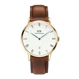 Dw Dapper ST Mawes Gold 34/38mm Ori BM New