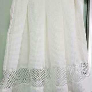 White skirt. cheap + good quality