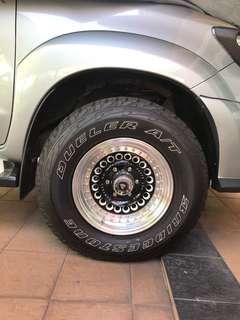 Tyre 4X4 Bridgestone (m