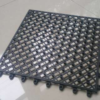 Drainage base tile for wpc tile / Grass tile / slate tile 300x300x10mm